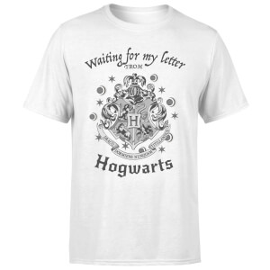 Harry Potter Waiting For My Letter From Hogwarts Men's T-Shirt - White
