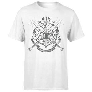 Harry Potter Hogwarts House Crest Men's T-Shirt - White