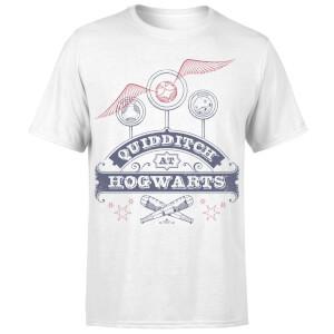 Harry Potter Quidditch At Hogwarts Men's T-Shirt - White