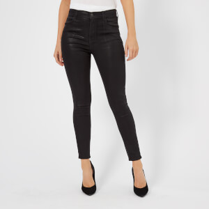 J Brand Women's Alana High Rise Crop Skinny Jeans - Fearless