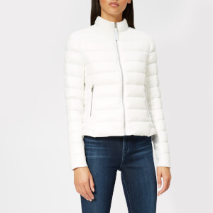 Mackage Women's Cindee Lustrous Short Padded Jacket - Off White