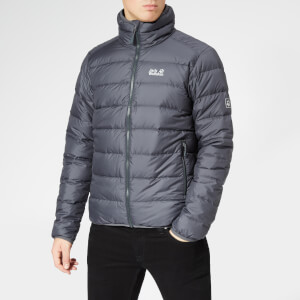 Jack Wolfskin Men's Helium High Jacket - Ebony
