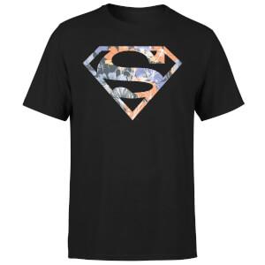 DC Originals Floral Superman Men's T-Shirt - Black