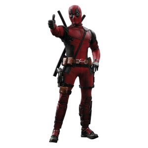Figurine Deadpool 2 Movie Masterpiece Hot Toys Échelle 1/6 (31 cm)
