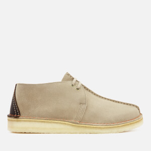 Clarks Originals Men's Desert Trek Suede Shoes - Sand