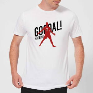 Goal Machine Herren T-Shirt - Weiß