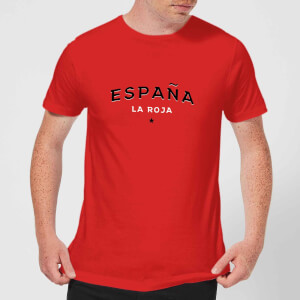 Espana La Roja Men's T-Shirt - Red
