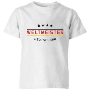 Weltmeister Kids' T-Shirt - White