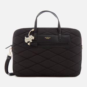 Radley Women's Charleston Large Laptop Ziptop Tote Bag - Black