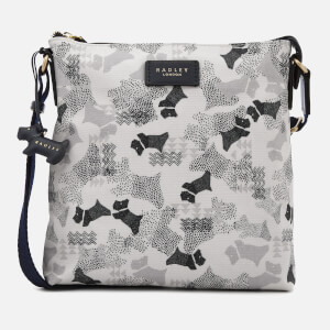 Radley Women's Data Dogs Mall Cross Body Bag Ziptop - Chalk