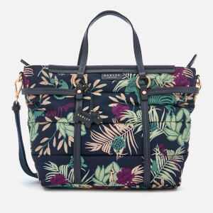Radley Women's Longleat Palms Medium Multiway Tote Bag - Ink