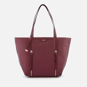 Radley Women's Penhurst Zip Large Tote Bag East West Shoulder Bag - Port