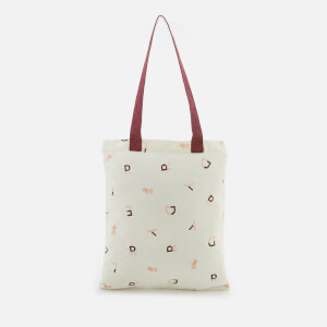 Radley Women's Letters Canvas Tote Bag - White
