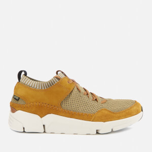 Clarks Men's Tri Active Up GTX Trainers - Ochre