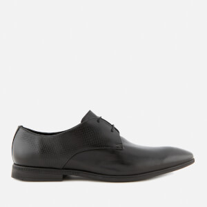 Clarks Men's Bampton Walk Leather Derby Shoes - Black