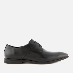 Clarks Men's Bampton Walk Leather Derby Shoes - Black
