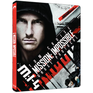 Mission Impossible Ghost Protocol - 4K Ultra HD - Limited Edition Steelbook