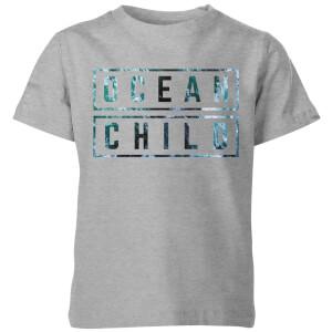 My Little Rascal Ocean Child Kids' T-Shirt - Grey