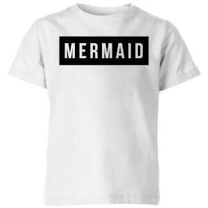 My Little Rascal Mermaid Kids' T-Shirt - White
