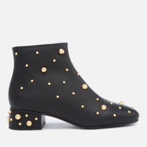 See By Chloé Women's Embellished Ankle Boots - Nero