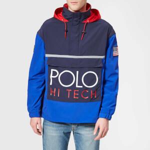 Polo Ralph Lauren Men's Pop Over Jacket - Bright Royal/Newport Navy