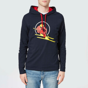 Polo Ralph Lauren Men's Hooded T-Shirt - Aviator Navy