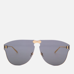 Gucci Metal Frame Sunglasses - Gold/Grey
