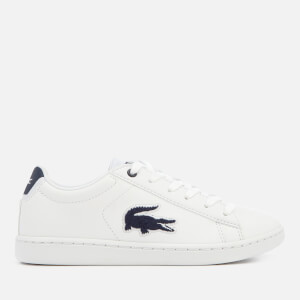 Lacoste Kids' Carnaby Evo 318 1 Trainers - White/Navy