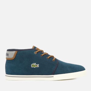 Lacoste Men's Ampthill 318 1 Suede Chukka Boots - Navy/Tan