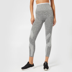 LNDR Women's Six Eight Stripe Seamless Tights - Grey Marl