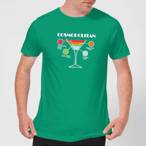 Infographic Cosmopolitan Men's T-Shirt - Kelly Green