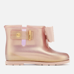 Mini Melissa Toddlers' Sugar Rain Fairy Boots - Rose Gold: Image 1