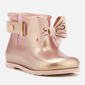 Mini Melissa Toddlers' Sugar Rain Fairy Boots - Rose Gold: Image 2