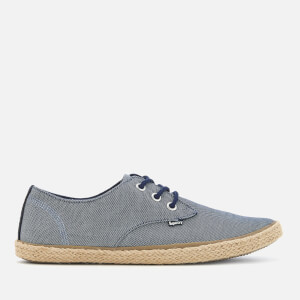 Superdry Men's Skipper Shoes - Blue Textured Denim