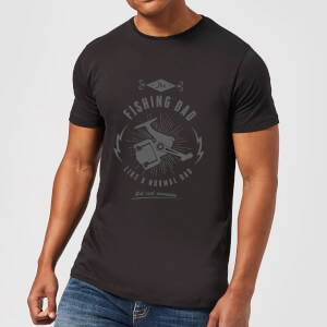 Fishing Dad Men's T-Shirt - Black