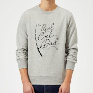 Reel Cool Dad Sweatshirt - Grey