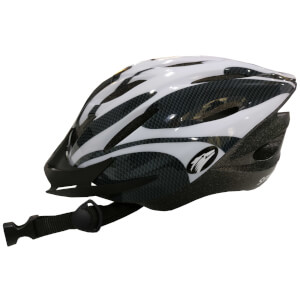 Coyote Sierra Dial Fit Adult Cycling Helmet - White