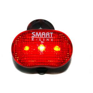 Smart Rear LED Light (3X LED 3X Modes)
