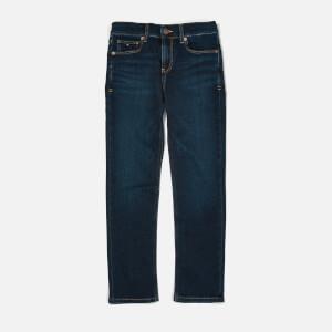 Tommy Hilfiger Boy's Clyde Straight Jeans - New York Dark