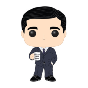 The Office - Michael Scott Pop! Vinyl Figur