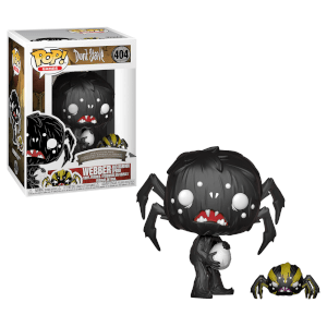 Don't Starve Webber with Spider Pop! Vinyl Figur