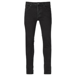 Threadbare Men's Riley Premium Super Skinny Stretch Jeans - Black