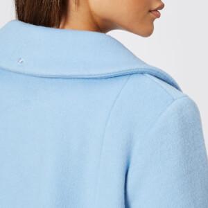 Saks Potts Women's Yvonne Sky Blue Coat - Blue: Image 7