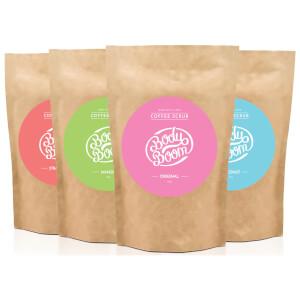 BodyBoom Coffee Scrub Original/Mango/Kokos/Jordgubb