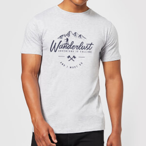 Wanderlust Men's T-Shirt - Grey