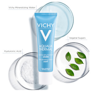 Vichy Aqualia Thermal Light Cream Tube 30ml: Image 2