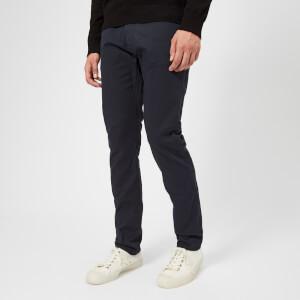 Emporio Armani Men's 5 Pocket Slim Gabadine Jeans - Catrame