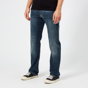 Emporio Armani Men's 5 Pocket Regular Fit Jeans - Denim