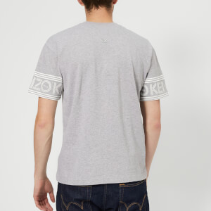 KENZO Men's Sleeve Logo Short Sleeve T-Shirt - Grey: Image 2
