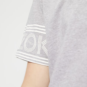 KENZO Men's Sleeve Logo Short Sleeve T-Shirt - Grey: Image 4